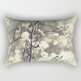 wild blossoms Rectangular Pillow