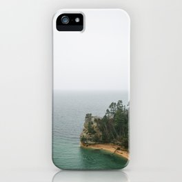 The Coast of Pictured Rocks National Lakeshore iPhone Case