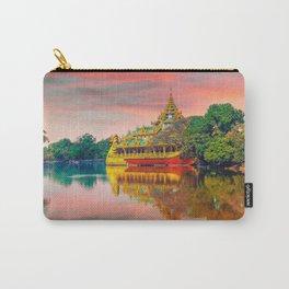 Yangon, Myanmar #society6 #decor #buyart Carry-All Pouch