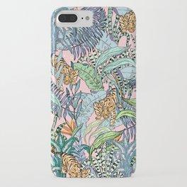 Jungle leopard iPhone Case
