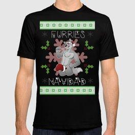 Furries Navidad T-shirt