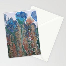 Blue Irises Stationery Cards