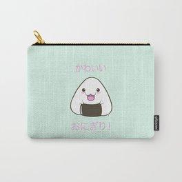 Cute Onigiri Kawaii ^.~ Carry-All Pouch