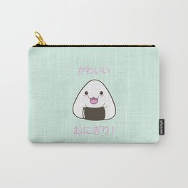Cute Onigiri Kawaii ^.~ Carry-All Pouch