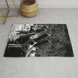 Longtail Boats Rug
