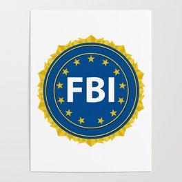 FBI Seal Poster