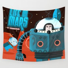 Life on mars Wall Tapestry