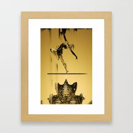 FROM ME TO YOU (ALT) Framed Art Print