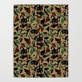 Chihuahua Camouflage Poster