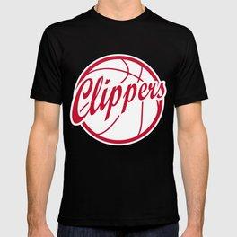 Clippers vintage baskeball logo T-shirt