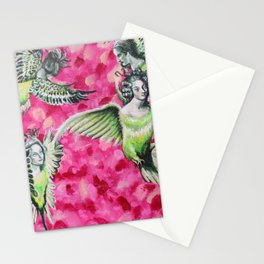 Scorned Harpies Stationery Cards