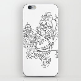 Coloring for Real Grownups. Stroller iPhone Skin