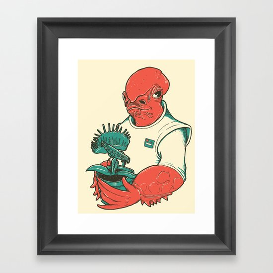 The Admiral's Trap Framed Art Print