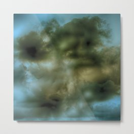 Abstract stormy clouds Metal Print