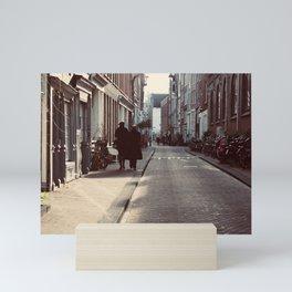 Walking Mini Art Print