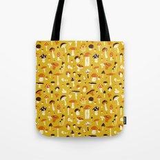 Mushrooms pattern Tote Bag