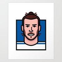 Gareth Bale Art Print