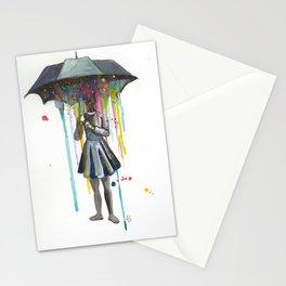 Artist Rain Stationery Cards