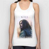kili Tank Tops featuring Kili (The Hobbit) by Grazia Vincoletto