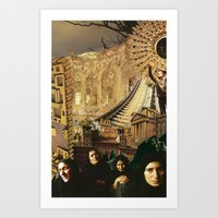 Widows in the City Art Print