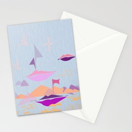 kisses in the sky  Stationery Cards