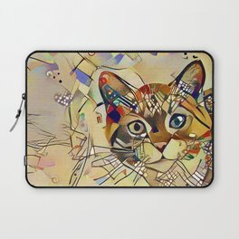 Cat Basil Laptop Sleeve