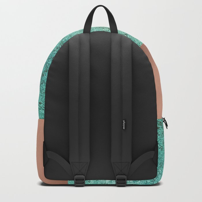 NEW EMOTIONS - ROSE & TEAL Backpack