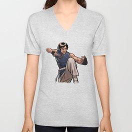 Jackie Chan Unisex V-Neck
