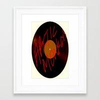 arctic monkeys Framed Art Prints featuring Arctic Monkeys by SLIDE