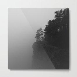 Fog & Pines Pt2 Metal Print