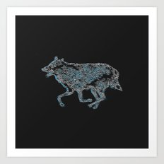 Re_wolf Art Print