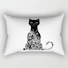 ornamental cat Rectangular Pillow