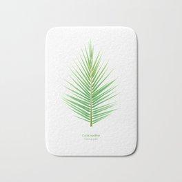 Tropical Vibes Collection: Cocos nucifera Bath Mat