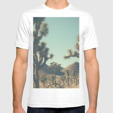 The catastrophe of forgiveness White MEDIUM Mens Fitted Tee