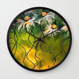 Dance Daisy Dance Wall Clock