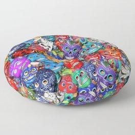 Calaveras Pequeñas - Little Sugar Skulls Floor Pillow