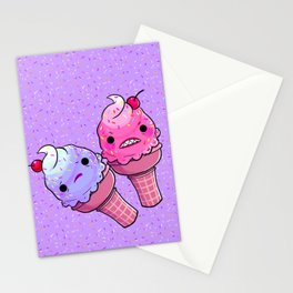 Super Emotional Icecream Stationery Cards