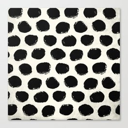 Urban Polka Dots Canvas Print
