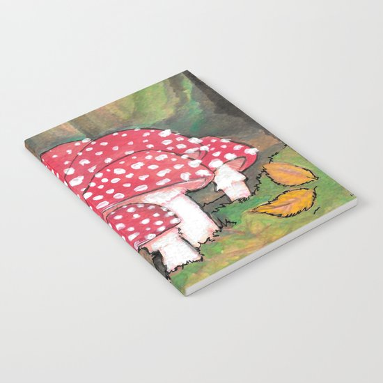 Mushrooms in the Woods Notebook