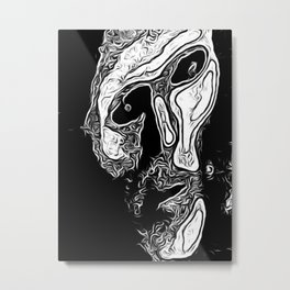 I have a Question Metal Print