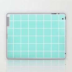 Blue Tiffany Grid Laptop & iPad Skin