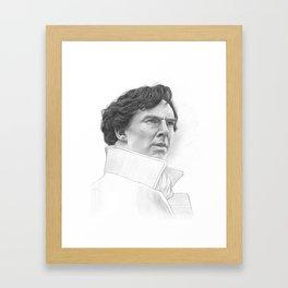 Sherlock Benedict Cumberbatch Framed Art Print