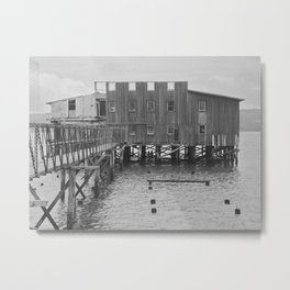 Abandoned Cannery Metal Print
