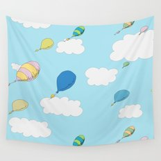oh the places you'll go pattern...  Wall Tapestry