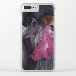 Tell All Your Lies Into These Rainy Skys Clear iPhone Case