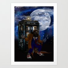 Werewolf 10th Doctor who Art Print