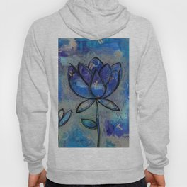 Abstract - Lotus flower - Intuitive Hoody