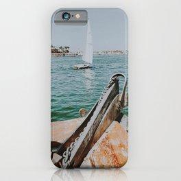 boat life vii / newport beach, california iPhone Case