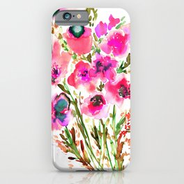 Bouquet Pink iPhone Case