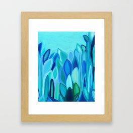 Sea Plants Framed Art Print